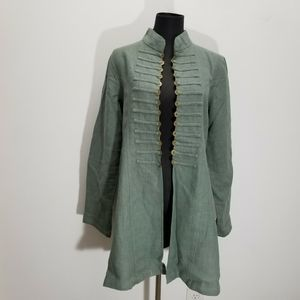Soft Surroundings Sheffield Jacket Military Green